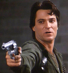 Captain Rhodes (Joe Pilato) in Day of the Dead (1985)