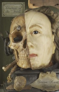 L0035771 A Vanitas tableau Credit: Wellcome Library, London. Wellcome Images images@wellcome.ac.uk http://wellcomeimages.org A Vanitas tableau of a life sized head, on one side resembling Queen Elizabeth I, the other half a skull with attendant insects and reptiles, made from wax. Photograph 18th Century Published: - Copyrighted work available under Creative Commons Attribution only licence CC BY 4.0 http://creativecommons.org/licenses/by/4.0/