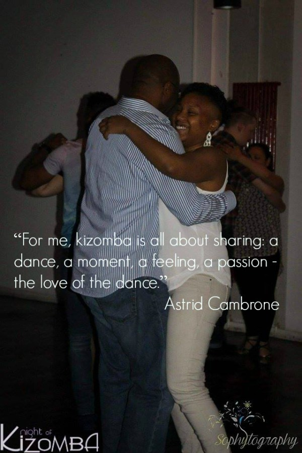 Kizomba is about sharing