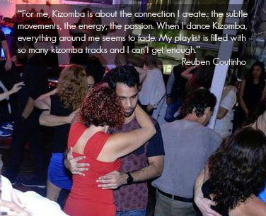When I dance kizomba everything around me seems to fade