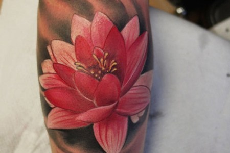 lotus tattoo 3