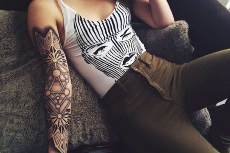 arm tattoo designs for girls 36