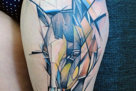 geometric tattoo designs 71