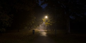 Street light: A photo essay about hope shining through the dark
