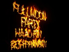 To Full Moon Party or not To Full Moon Party