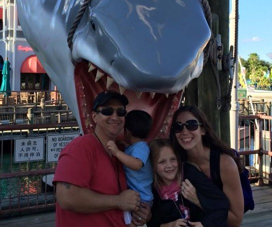 getting eaten by jaws in universal studios
