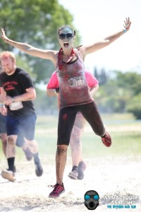 thismomhere finishing up the obstacle race