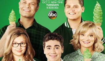 On the Set of The Real O'Neals + Tune in Tonight! #TheRealONeals #ABCTVEvent