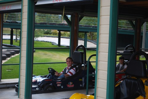 Bradley & Grant on gocarts