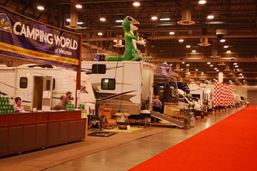 Another view of RV Show