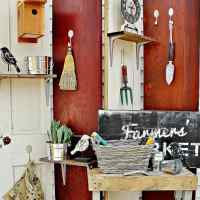How To Make a Folding Screen From Old Doors