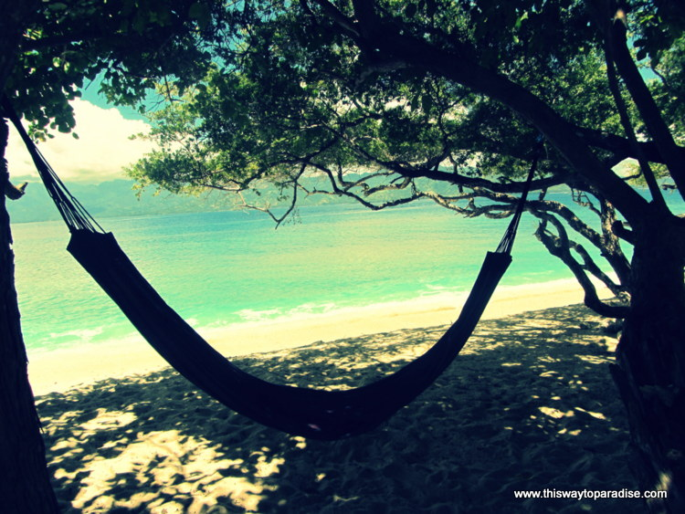 Hammock on Gili Meno, Gili Islands