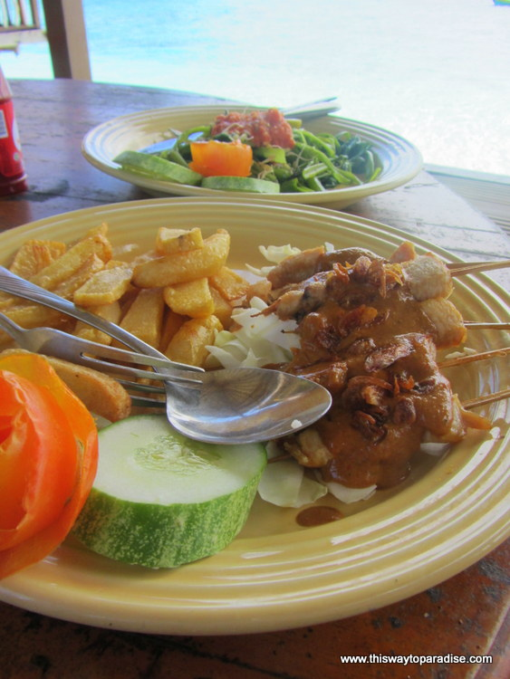 Chicken Sate in Indonesia