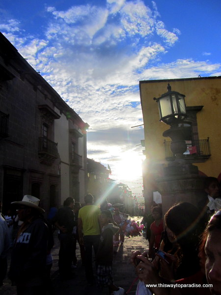 Seeing the light in San Miguel de Allende, Mexico