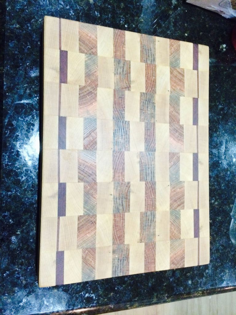 Scrap Cutting Board 8