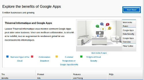 Thiverval Informatiqsue vous installe Google Apps