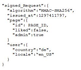 signed_request Code-Beispiel