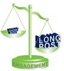 Beiträge mit 80 oder weniger Zeichen haben ein um 27% höheres Engagement