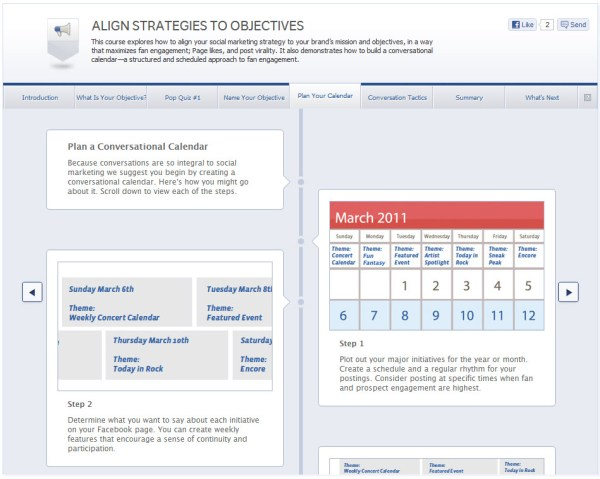 Align Strategies to Objectives - Plan Your Calendar