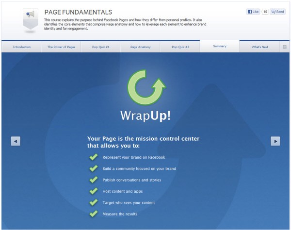 Page Fundamentals - Summary