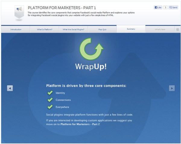 Platform for Marketers - Part 1 - Summary