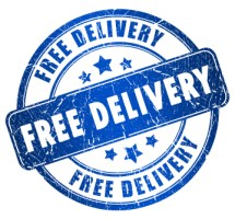 Free delivery stamp (Copyright istockphoto.com