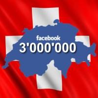 3 Mio. Facebook Nutzer in der Schweiz