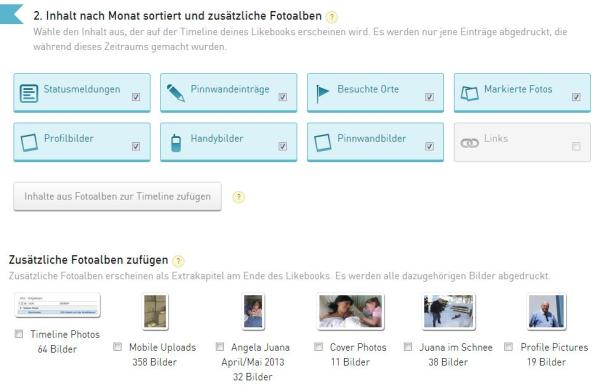 Auswahlprozedere bei likebook