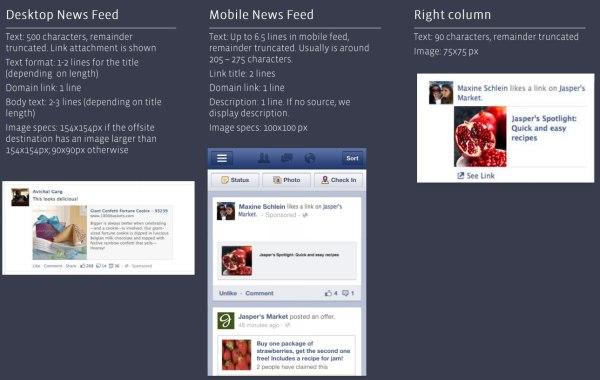 Facebook Domain Sponsored Story