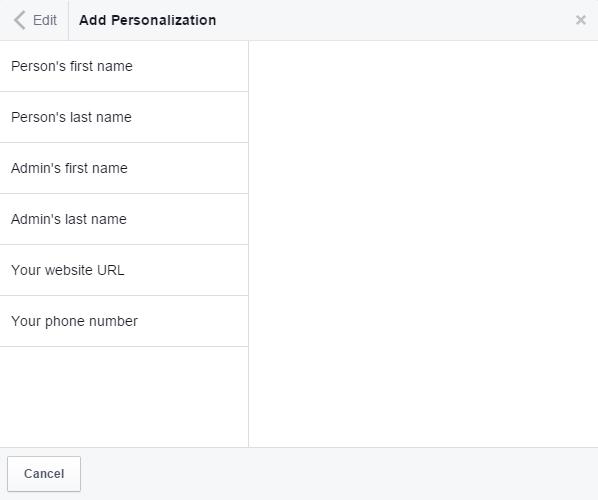 Personalisierungsmöglichkeiten bei Standardtexten