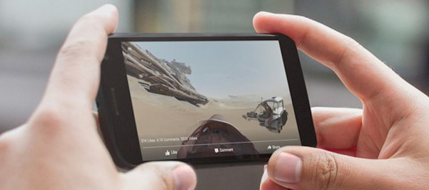 "Video 360 ""full-screen"" (Quelle: Facebook)"