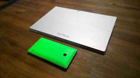 Surface Pro 3 Lumia 930