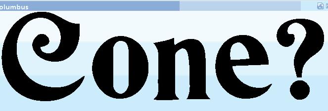 Font 3 sample