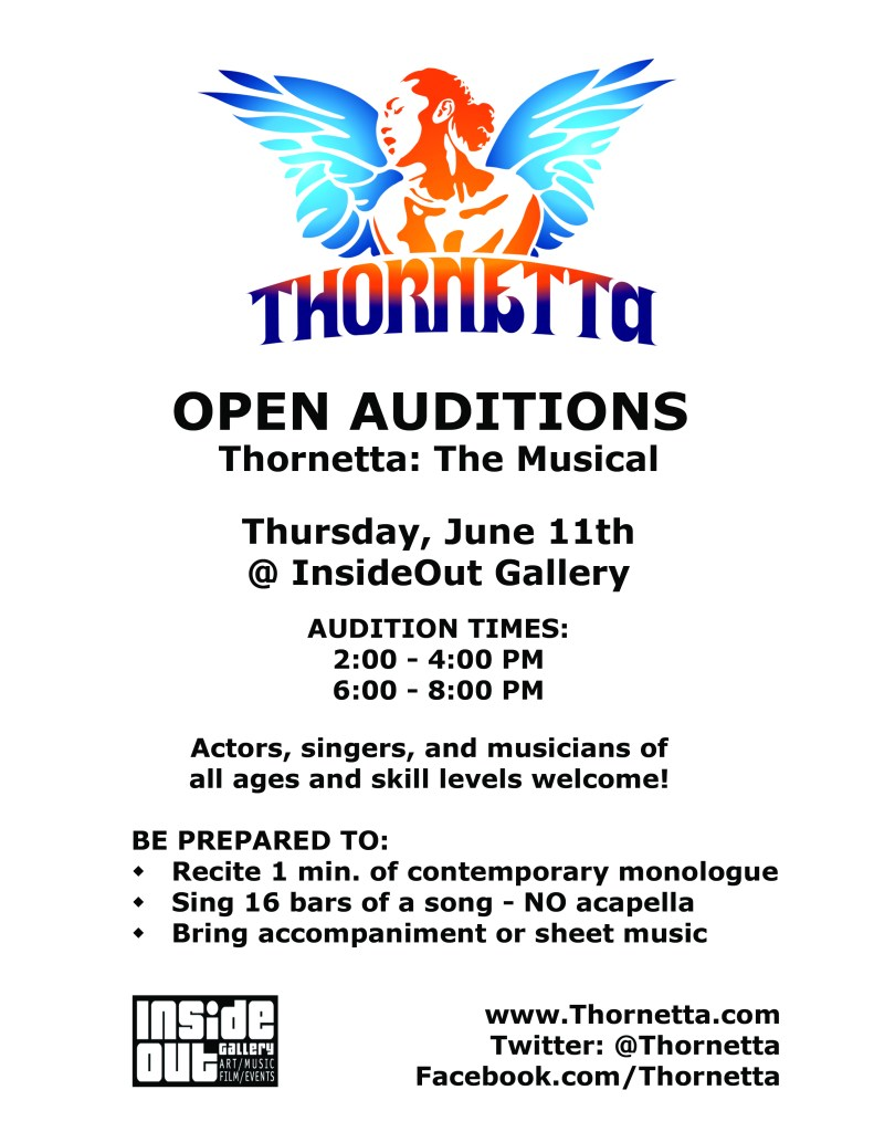 Open Auditions Flyer 2