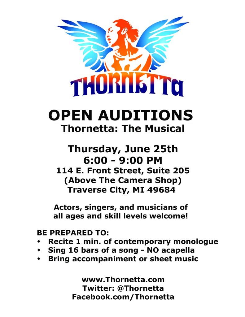 Open Auditions Flyer 2nd Round