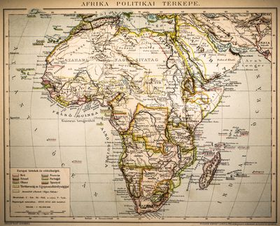 Chronological List of African Independence A Chronology of South African Colonization and Independence