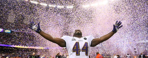 World Champion Ravens: A Law of Attraction Lesson.