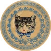 DGD – Digital Goodie Day – Vintage Kitten Sticker #4