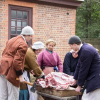 Hog to Ham Event in Colonial Williamsburg