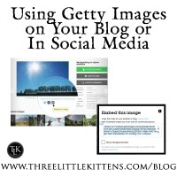 Getty Images for Blogging and Social Media