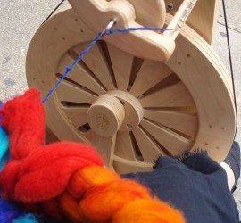 I spun rainbows all day.