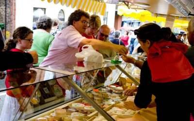 Bank Holiday Monday at Le Marche