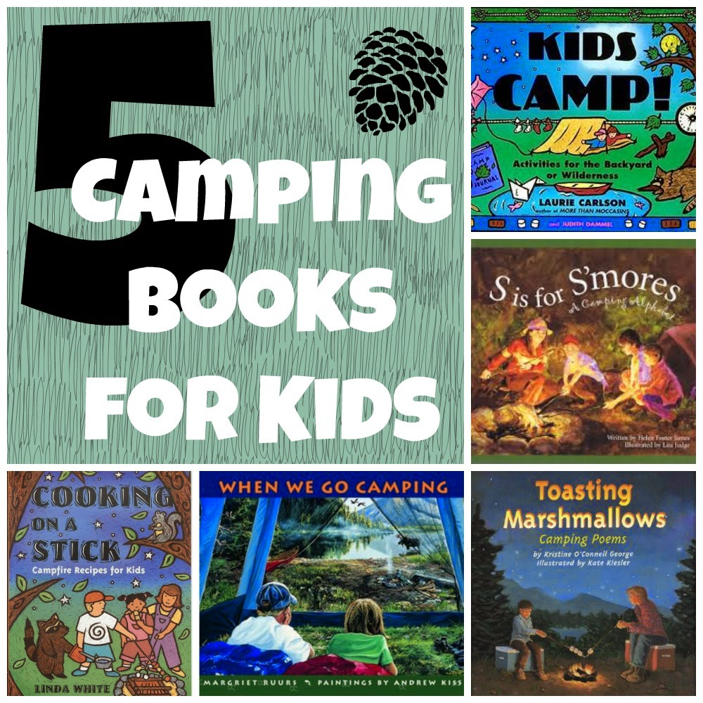 5 camping themed books for kids