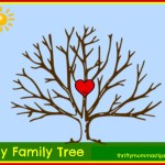 Adoption and Family Tree Free Printable Activity for Kids