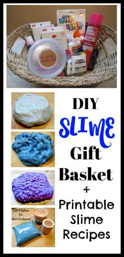 Supple Gift Basket Ideas Slime Kits Gift Baskets Everything Your Kids Want You Gifts New Parents Who Have Everything Gifts Slime Recipes Parents Who Have Everything