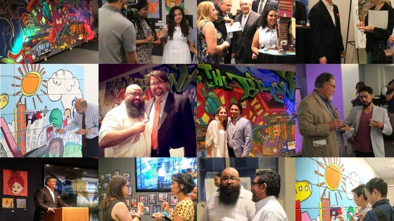 WE ARE THRIVE_event pics collage