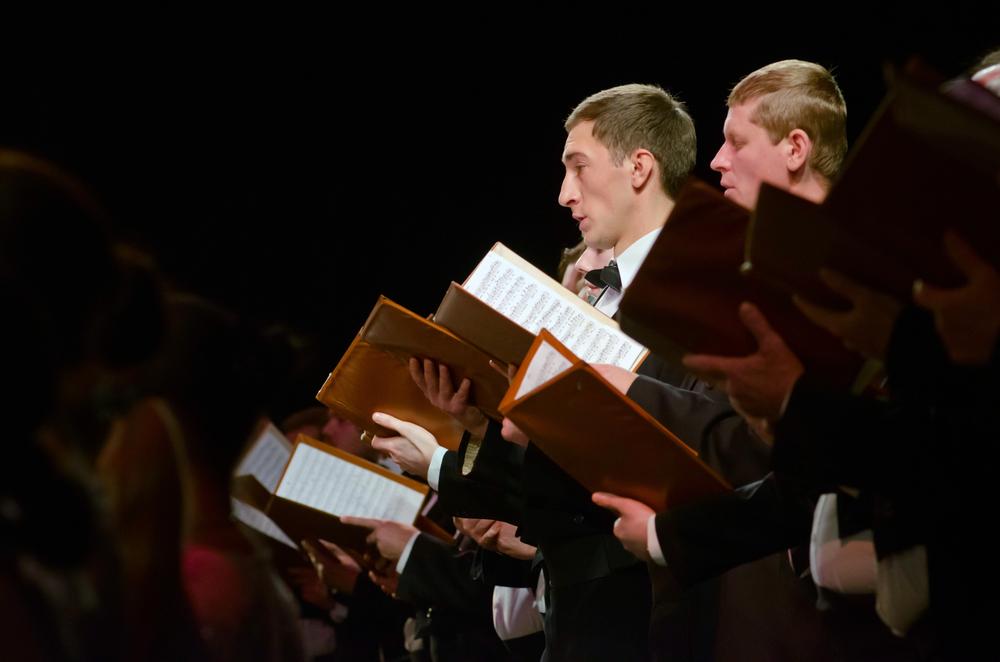 Choral Singer Just Loves Being A Choral Singer