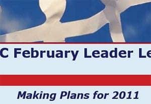 February 2011 Leader Letter