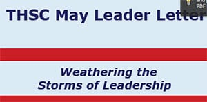May 2011 Leader Letter