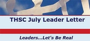 July 2011 Leader Letter